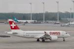 starlightさんが、ミュンヘン・フランツヨーゼフシュトラウス空港で撮影したスイスインターナショナルエアラインズ BD-500-1A10 CSeries CS100の航空フォト(写真)
