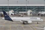 starlightさんが、ミュンヘン・フランツヨーゼフシュトラウス空港で撮影したルフトハンザドイツ航空 A320-214の航空フォト(写真)