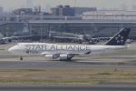 リンリンさんが、羽田空港で撮影したタイ国際航空 747-4D7の航空フォト(写真)