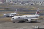 リンリンさんが、羽田空港で撮影した日本航空 777-289の航空フォト(写真)