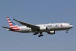 camelliaさんが、成田国際空港で撮影したアメリカン航空 777-223/ERの航空フォト(写真)