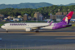 MOR1(新アカウント)さんが、福岡空港で撮影したハワイアン航空 767-3CB/ERの航空フォト(写真)