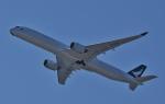 鉄バスさんが、関西国際空港で撮影したキャセイパシフィック航空 A350-1041の航空フォト(飛行機 写真・画像)