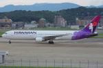 MOR1(新アカウント)さんが、福岡空港で撮影したハワイアン航空 767-3G5/ERの航空フォト(写真)
