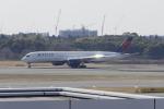 リンリンさんが、成田国際空港で撮影したデルタ航空 A350-941XWBの航空フォト(写真)
