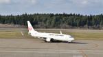 ライトレールさんが、秋田空港で撮影した日本航空 737-846の航空フォト(写真)