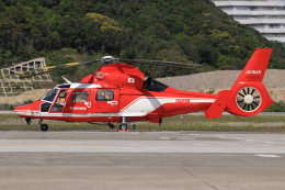 korosukeさんが、南紀白浜空港で撮影した名古屋市消防航空隊 AS365N3 Dauphin 2の航空フォト(写真)