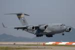 チャッピー・シミズさんが、岩国空港で撮影したアメリカ空軍 C-17A Globemaster IIIの航空フォト(写真)