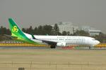 yabyanさんが、成田国際空港で撮影した春秋航空日本 737-86Nの航空フォト(飛行機 写真・画像)