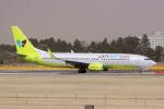yabyanさんが、成田国際空港で撮影したジンエアー 737-8B5の航空フォト(写真)