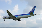 ちゃぽんさんが、伊丹空港で撮影した全日空 777-381の航空フォト(写真)