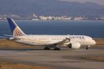 けいとパパさんが、関西国際空港で撮影したユナイテッド航空 787-8 Dreamlinerの航空フォト(写真)