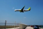 Taka1418さんが、下地島空港で撮影したソラシド エア 737-86Nの航空フォト(写真)