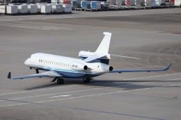 KAZFLYERさんが、羽田空港で撮影したユタ銀行 Falcon 8Xの航空フォト(写真)