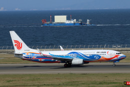 Wasawasa-isaoさんが、中部国際空港で撮影した中国国際航空 737-89Lの航空フォト(飛行機 写真・画像)