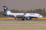 yabyanさんが、成田国際空港で撮影したオーロラ A319-111の航空フォト(写真)