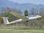 とびたさんが、長野市滑空場で撮影した長野グライダー協会 ASK 21の航空フォト(写真)