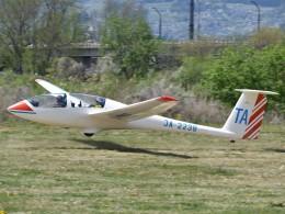 とびたさんが、長野市滑空場で撮影した日本個人所有 G103 Twin Astirの航空フォト(飛行機 写真・画像)