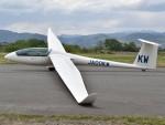 とびたさんが、長野市滑空場で撮影した日本個人所有 LS8-18の航空フォト(写真)