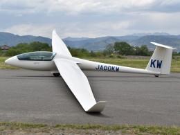 とびたさんが、長野市滑空場で撮影した日本個人所有 LS8-18の航空フォト(飛行機 写真・画像)
