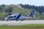 marariaさんが、青森空港で撮影したオールニッポンヘリコプター AS365N2 Dauphin 2の航空フォト(写真)