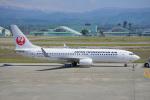 ちゃぽんさんが、小松空港で撮影した日本トランスオーシャン航空 737-8Q3の航空フォト(飛行機 写真・画像)