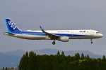 Kuuさんが、鹿児島空港で撮影した全日空 A321-211の航空フォト(飛行機 写真・画像)