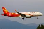 Kuuさんが、鹿児島空港で撮影した香港航空 A320-214の航空フォト(飛行機 写真・画像)