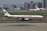 レッドベアーさんが、羽田空港で撮影した中国東方航空 A330-343Xの航空フォト(飛行機 写真・画像)