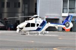 ヘリオスさんが、東京ヘリポートで撮影したオールニッポンヘリコプター EC135T2の航空フォト(写真)