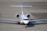KAZFLYERさんが、羽田空港で撮影した不明 BD-700-1A10 Global Expressの航空フォト(飛行機 写真・画像)