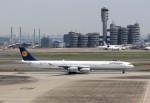 ハム太郎。さんが、羽田空港で撮影したルフトハンザドイツ航空 A340-642の航空フォト(写真)