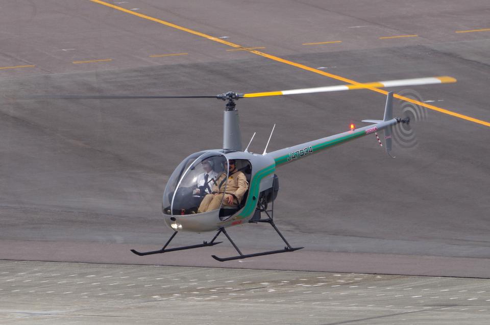 yabyanさんのセコインターナショナル Robinson R22 (JA7834) 航空フォト