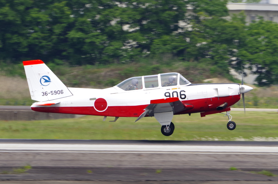 yabyanさんの航空自衛隊 Fuji T-7 (36-5906) 航空フォト