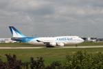 職業旅人さんが、パリ オルリー空港で撮影したコルセール 747-422の航空フォト(写真)