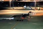 T.Sazenさんが、羽田空港で撮影したプライベートエア Gulfstream G650 (G-VI)の航空フォト(飛行機 写真・画像)