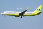 kan787allさんが、福岡空港で撮影したジンエアー 737-8SHの航空フォト(写真)