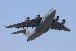 つっさんさんが、岩国空港で撮影したアメリカ空軍 C-17A Globemaster IIIの航空フォト(写真)