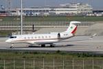 スポット110さんが、羽田空港で撮影したプライベートエア Gulfstream G650 (G-VI)の航空フォト(写真)