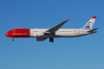 PASSENGERさんが、ロサンゼルス国際空港で撮影したノルウェー・エアUK 787-9の航空フォト(写真)