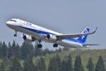 falconさんが、秋田空港で撮影した全日空 A321-211の航空フォト(写真)