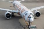 プリン賢さんが、羽田空港で撮影した全日空 777-381/ERの航空フォト(写真)