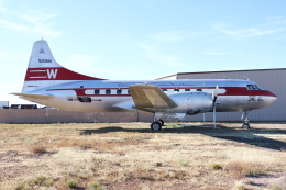kinsanさんが、グランド・キャニオン・バー・テン飛行場で撮影したウェスタン航空 240-1の航空フォト(飛行機 写真・画像)