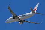 スカルショットさんが、小松空港で撮影した日本トランスオーシャン航空 737-8Q3の航空フォト(飛行機 写真・画像)