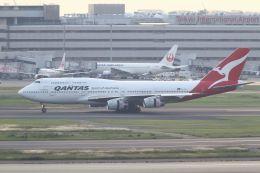 tomoMTさんが、羽田空港で撮影したカンタス航空 747-438の航空フォト(写真)