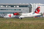 NIKEさんが、ヴァーツラフ・ハヴェル・プラハ国際空港で撮影したチェコ航空 ATR-42-500の航空フォト(飛行機 写真・画像)