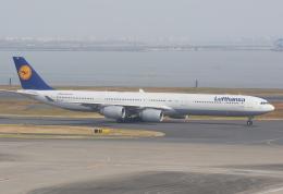 Dreamer-K'さんが、羽田空港で撮影したルフトハンザドイツ航空 A340-642の航空フォト(飛行機 写真・画像)
