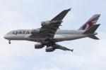 Koenig117さんが、ロンドン・ヒースロー空港で撮影したカタール航空 A380-861の航空フォト(写真)