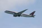 さんみさんが、プーケット国際空港で撮影したカタール航空 787-8 Dreamlinerの航空フォト(写真)