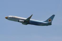 さんみさんが、プーケット国際空港で撮影したノックエア 737-86Jの航空フォト(飛行機 写真・画像)